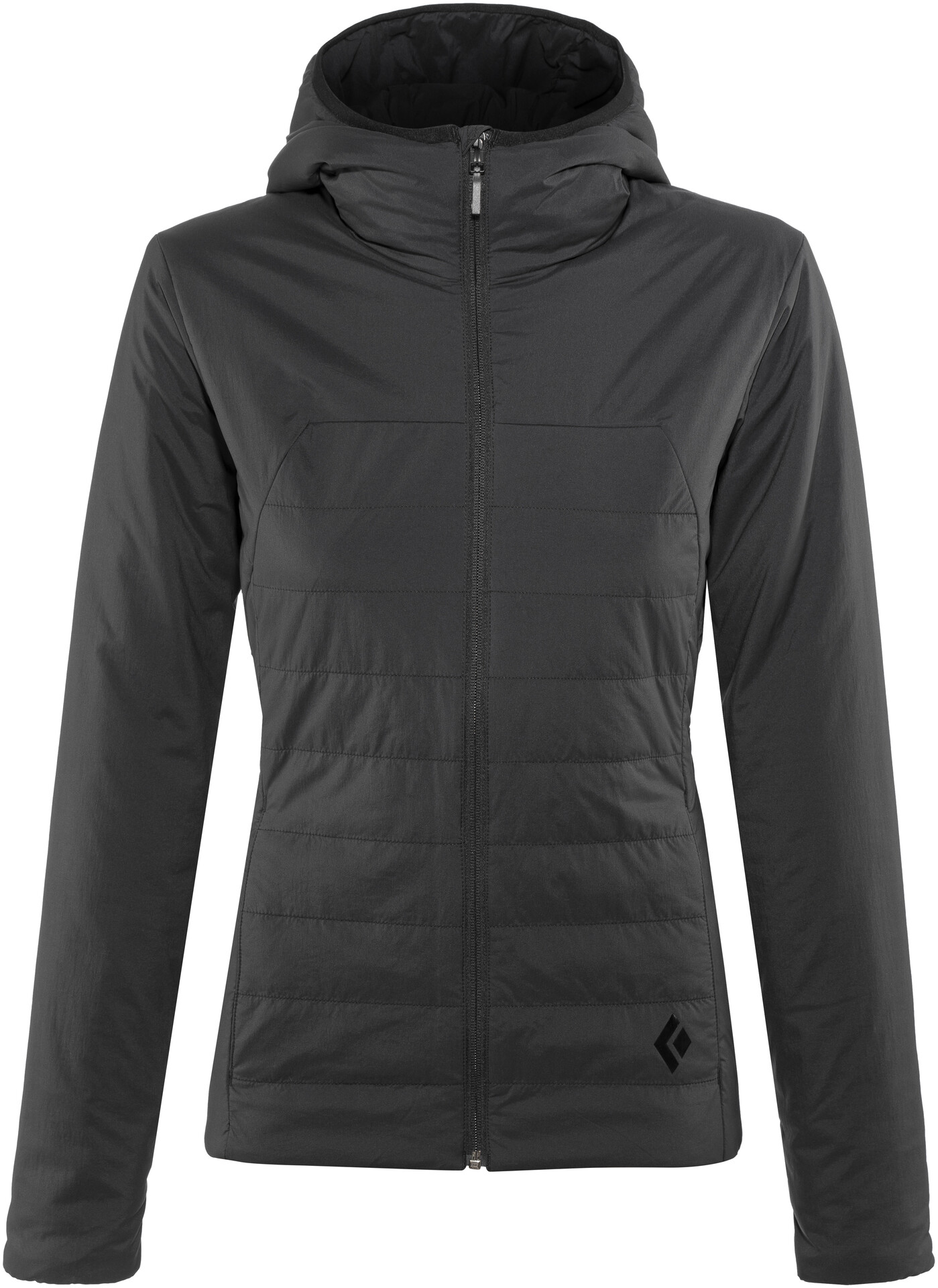 Black Diamond First Light Jacket Women grey at Addnaturecouk
